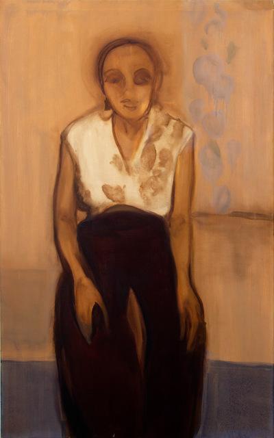 , 'Miss Moyo in Floral,' 2018, James Freeman Gallery