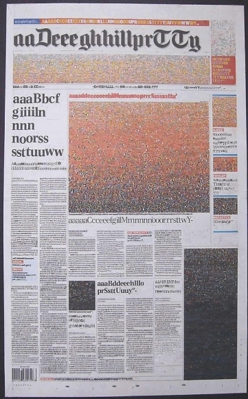 , 'What The Duke Did Next (The Daily Telegraph),' 2007, Mark Moore Fine Art