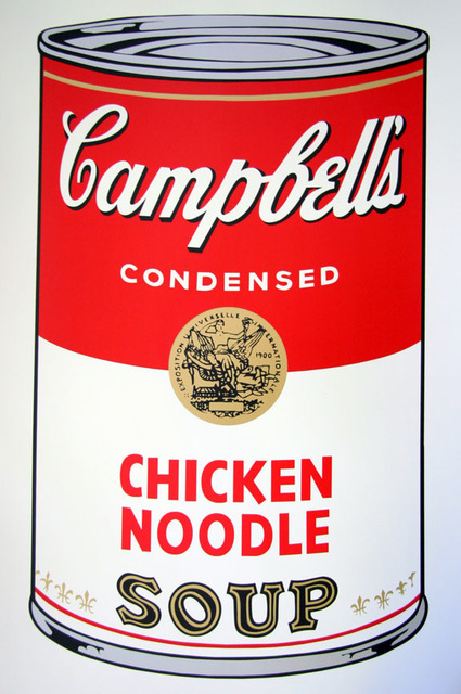 Andy Warhol, 'Campbell's Soup - Chicken Noodle - Sunday B. Morning (After)', ARTEDIO