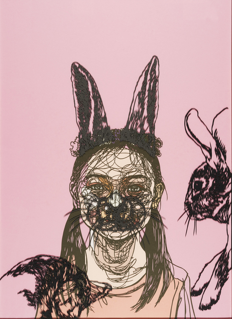 , 'Rabbit girl,' 2016, Micheko Galerie