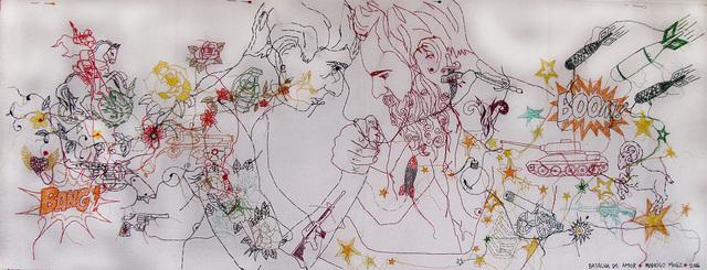 , 'Batalha do Amor,' 2015, Gabinete de Arte k2o