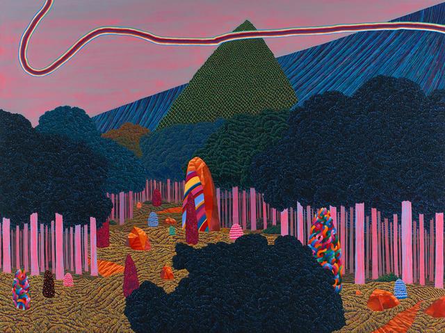 , 'Dividing Stone 분리되는 돌,' 2014, Johyun Gallery