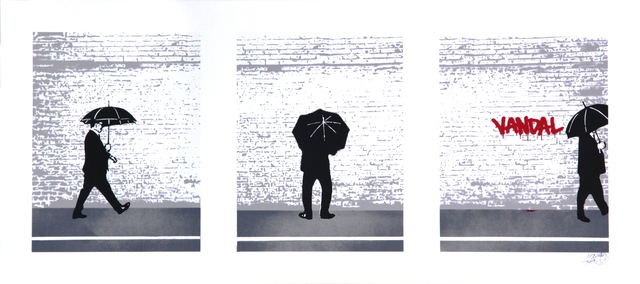 , 'Vandal Triptych,' 2008, Addicted Art Gallery
