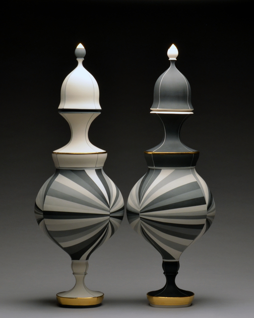 , 'Black and White Vessels,' 2015, Wexler Gallery