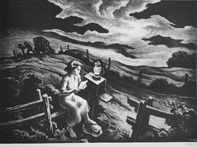 Thomas Hart Benton, 'Letter From Overseas', 1943, Aaron Galleries