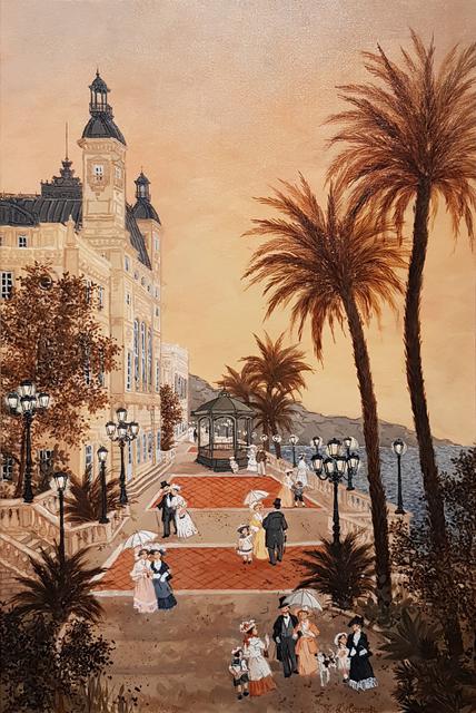 Fabienne Delacroix, 'Les terrasses du Casino de Monte-Carlo',  , Hugo Galerie