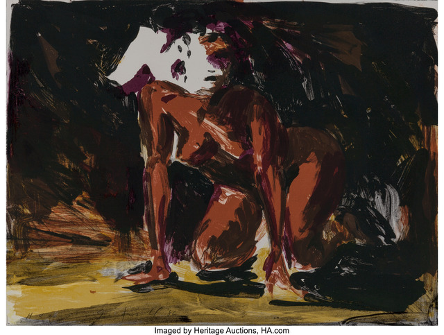 Eric Fischl, 'Annie, Gwen, Lilly, Pam, and Tulip (Woman on all fours)', 1986, Heritage Auctions