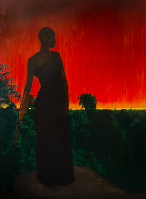 , 'Yaa Asantewaa Inspecting the Dispositions at Ejisu,' 2014, Ed Cross Fine Art