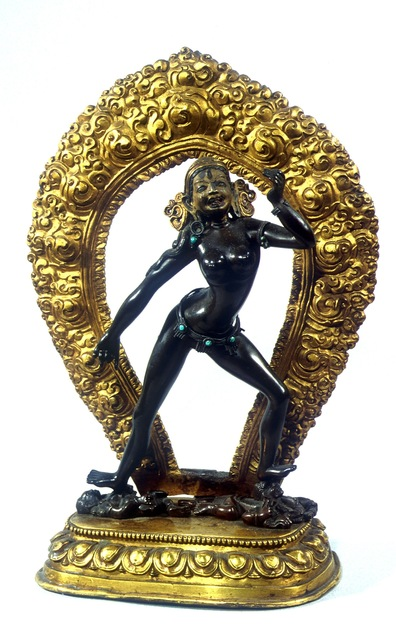 , 'Vajrayogini,' 18th century, Rubin Museum of Art