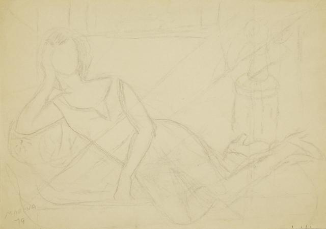 Marie Vorobieff Marevna, 'Reclining woman', 1979, Roseberys
