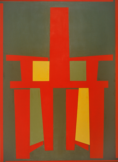 , 'Red Back-chair with a Green Background,' 2008, Tang Contemporary Art