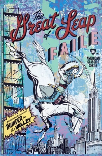 FAILE, 'The Great Leap', 2009, Jewel Goodby Contemporary