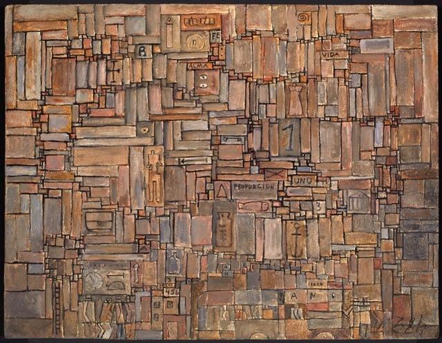 , 'Proporción constructiva,' 1959, Galería de las Misiones