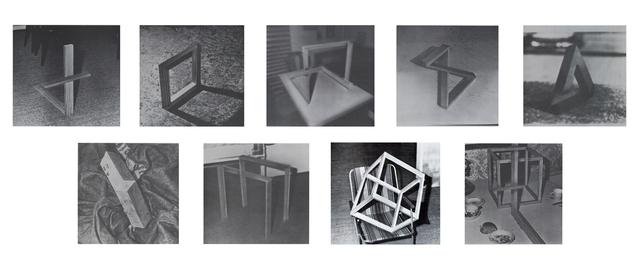 Gerhard Richter, '9 Objekte', 1969, Print, Offset print on cardboard, 9 parts, Galerie Bromer