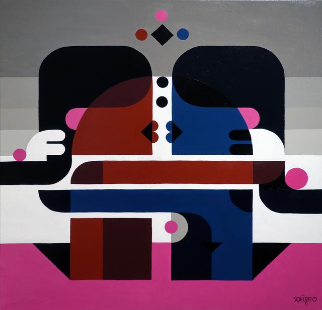 , 'Baiser #2,' 2017, Galerie Christiane Vallé