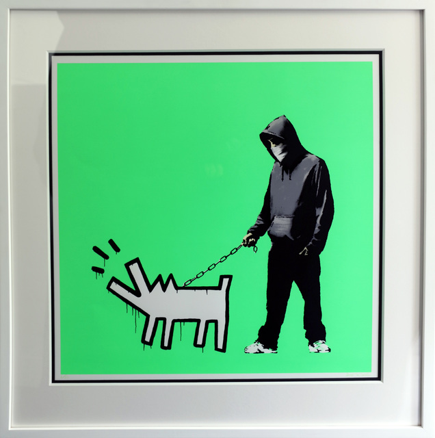 Banksy, 'Choose Your Weapon (Fluorescent) ', 2010, Contemporary Art Trader