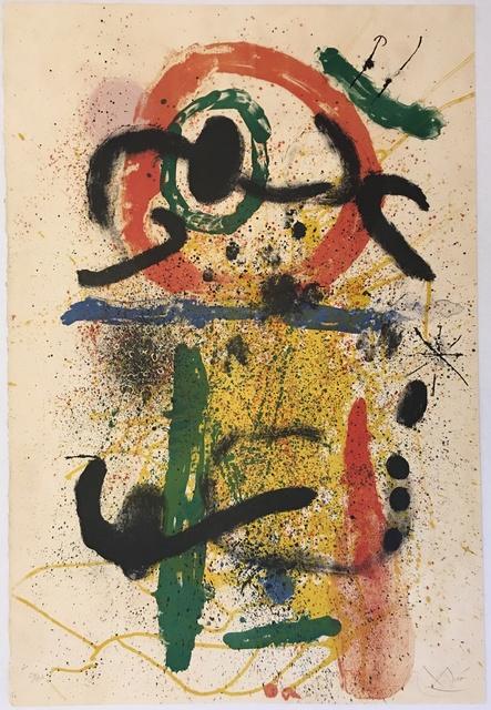 Joan Miró, 'Pierrot le Fou', 1964, Puccio Fine Art