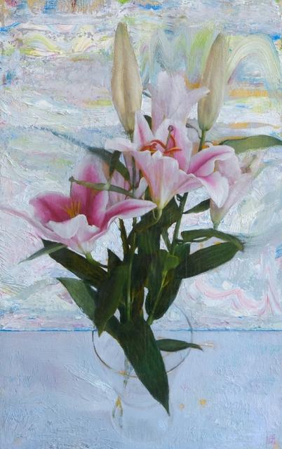 Lucas Bononi, 'Lilies', Abend Gallery