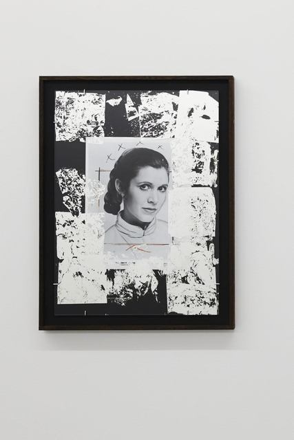 , 'A picture of Carrie Fisher,' 2015, tegenboschvanvreden