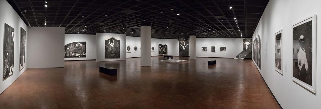 """Nkame: A Retrospective of Cuban Printmaker Belkis Ayón,"" October 2, 2016–February 12, 2017  Fowler Museum at UCLA Photos © Reed Hutchinson"