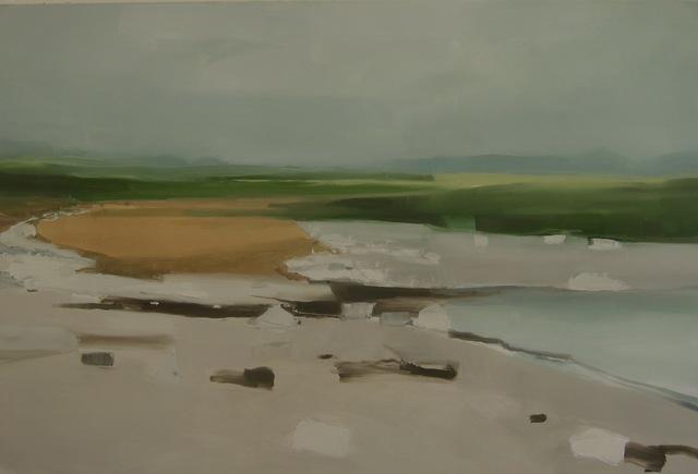 , 'Rocks, Grass, Beach,' 2018, Studio 21 Fine Art