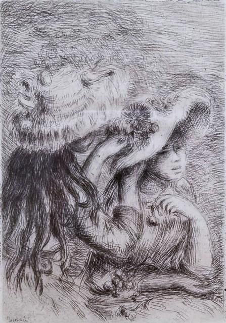 Pierre-Auguste Renoir, 'Le Chapeau Epingle', 1894, Graves International Art