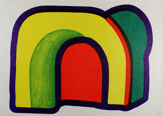 Howard Hodgkin, 'Composition with Red', 1971, Sylvan Cole Gallery