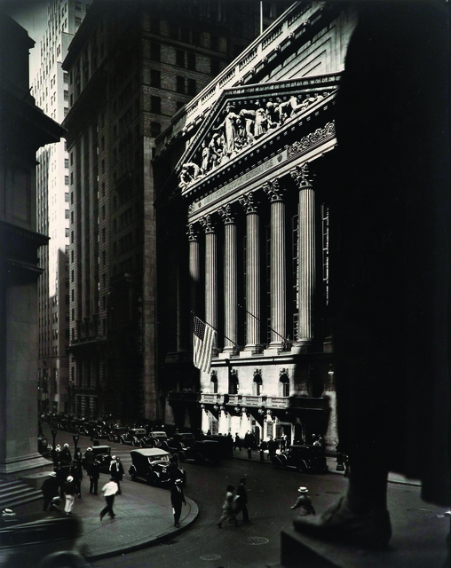 , 'Wall Street and Stock Exchange,' 1933, Pérez Art Museum Miami (PAMM)