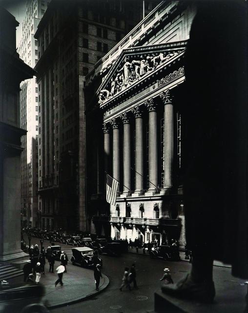 , 'Wall Street and Stock Exchange,' 1933, Pérez Art Museum Miami (PAMM)