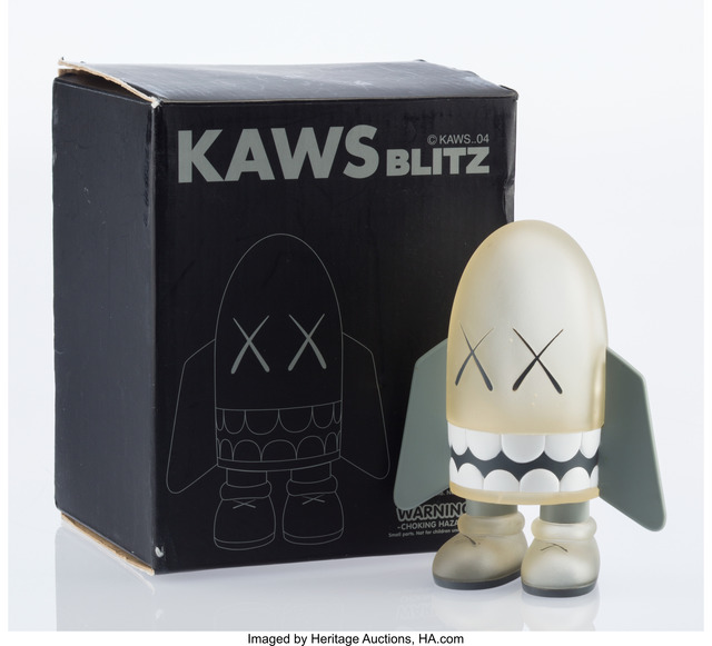 KAWS, 'Blitz (Clear)', 2004, Other, Painted cast vinyl, Heritage Auctions