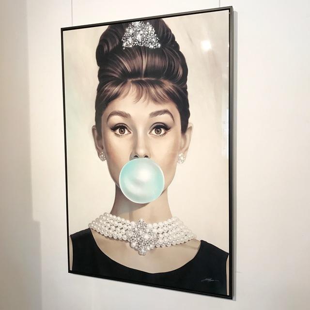 Michael Moebius, 'Audrey Tiffany Blue - The Aluminum Edition', Art Angels