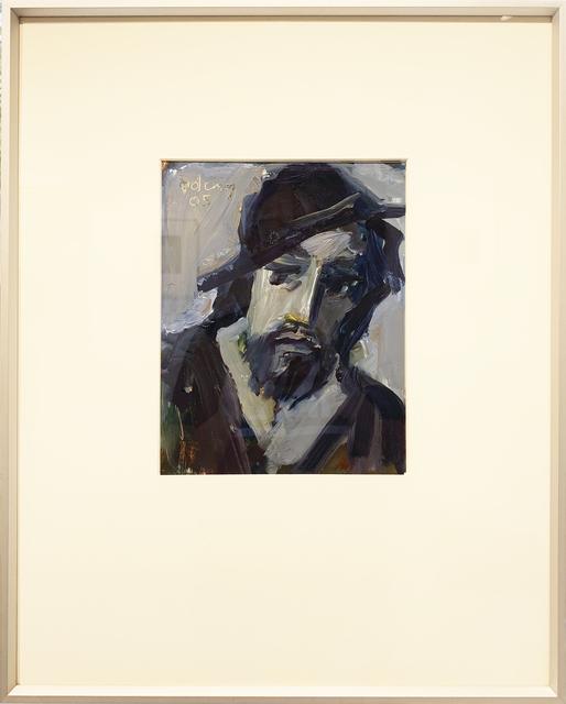 adema, 'man met hoed', 2005, Lakeside Gallery