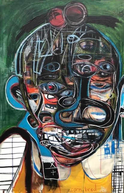 , 'Black Girl Jew,' 2019, Richard Beavers Gallery