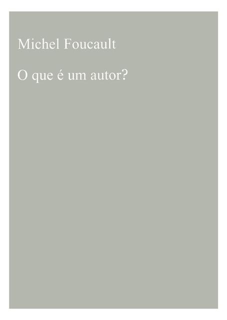 , 'O que é um Autor?,' 2014, 3+1 Arte Contemporânea