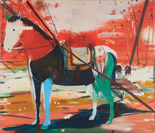 Jules de Balincourt, 'Dismounted', 2011, Rago