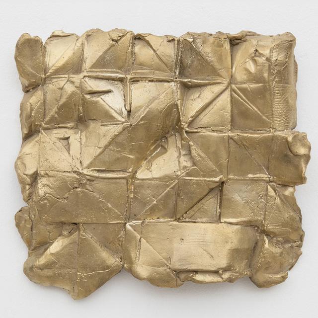 Celia Gerard, 'Dymaxion love letter, 1/8', 2016, Sculpture, Bronze, unique patina, Sears-Peyton Gallery