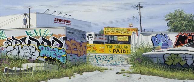 , 'Top Dollar (Study),' 2015, Lyons Wier Gallery