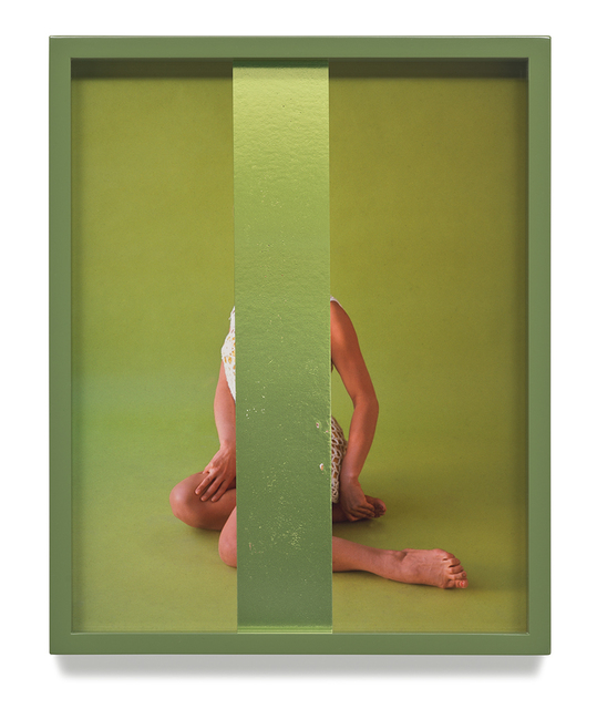 Elad Lassry, 'Untitled (Green)', 2014, Vancouver Art Gallery