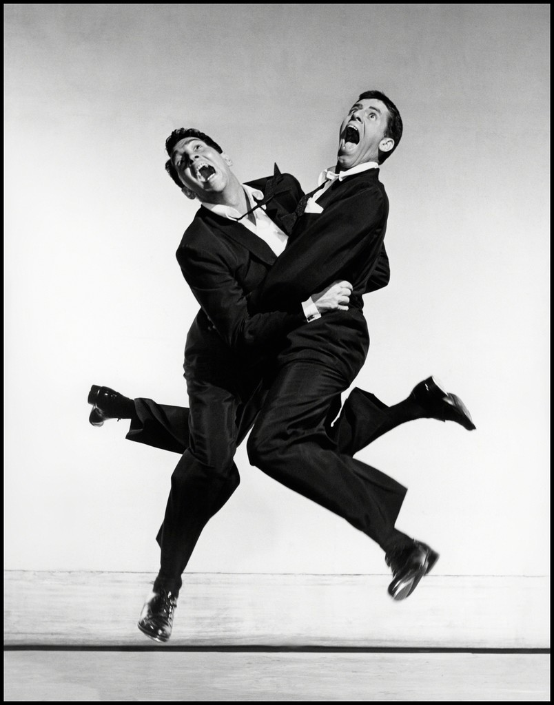 Philippe Halsman. Sorprèn-me! - Dean Martin y Jerry Lewis