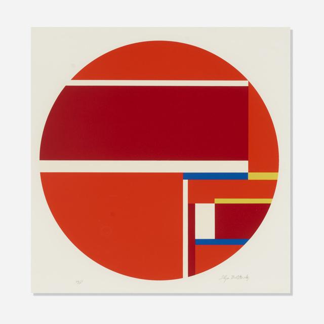 Ilya Bolotowsky, 'Red Tondo', 1979, Wright