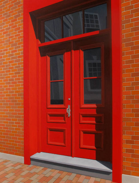 , 'The Red Door,' 2014, Clark Gallery