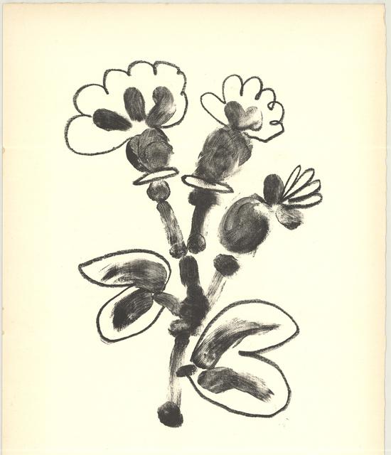 Pablo Picasso, 'De Memoire D'Homme VII', 1950, ArtWise