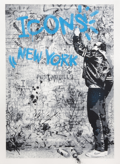 Mr. Brainwash, 'New York Icons - Keith Haring', 2009, Julien's Auctions