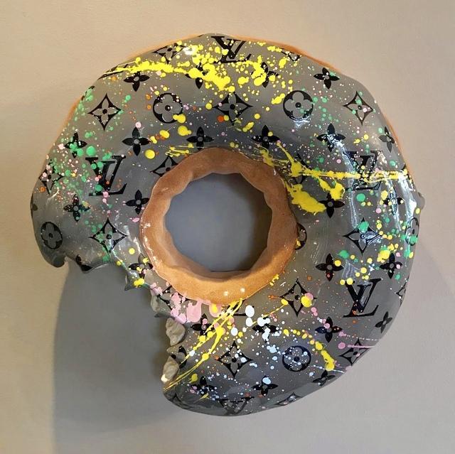 Eva Post Ruben Verheggen, 'BIG wall Donut - LV Special Grey', 2018, A.Style