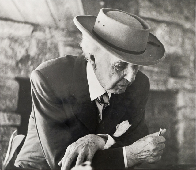 , 'Frank Lloyd Wright at the Reisley's ,' 1952, Edward Cella Art and Architecture