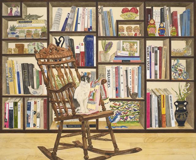 , 'Bookshelf and stories,' 2017, Leehwaik Gallery