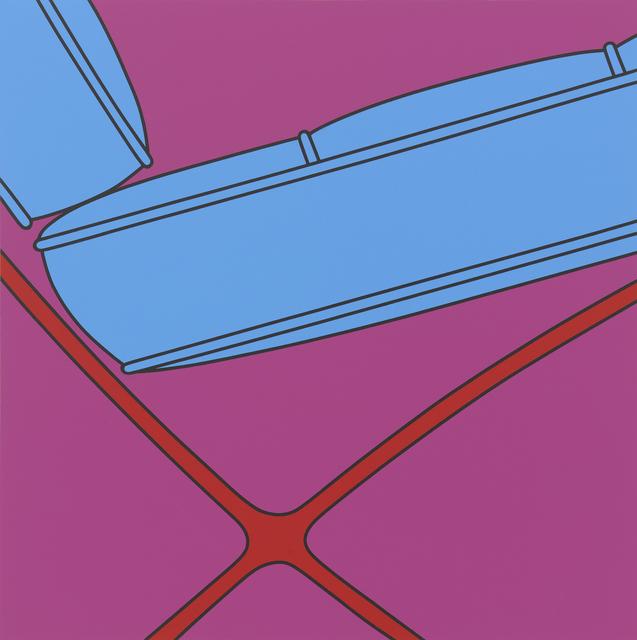, 'Untitled(Barcelona chair fragment),' 2017, Gallery Hyundai