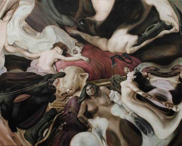 , 'The Return of Chaos (after Delacroix),' 2018, Jewel Goodby Contemporary