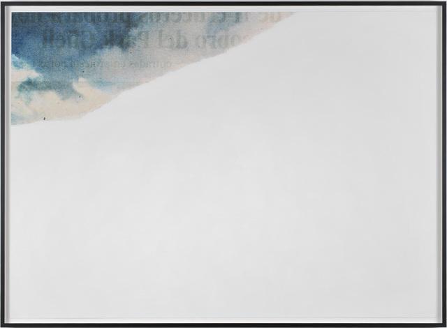 , 'Cielo roto,' 2013, Galerie Thomas Bernard