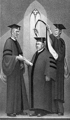 Grant Wood, 'Honorary Degree', 1938, Kiechel Fine Art